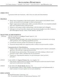 Sample Resume For Sales by Retail Resume Objective Resume Job Retail Job Resume Sample