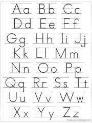 Printable Alphabet Grid | choose your own alphabet chart printable 1 1 1 1