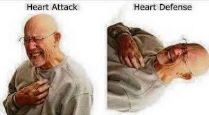 Heart Attack Meme - heart attack vs heart defense yu gi oh know your meme