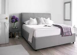 Grey Upholstered Ottoman Bed King Size Ottoman Bed Frame Bed Frame Katalog C2c030951cfc