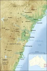 Sydney Map Sydney Basin Wikipedia
