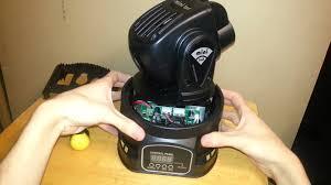 Cheap Moving Head Lights 15w Rgb Led Mini Moving Heads Model P046 Unboxing U0026 Teardown