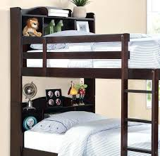 Bunk Bed Shelf Ikea Bunk Bed With Shelves Bookcase Headboard Bunk Beds Bunk Beds With