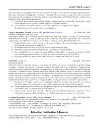 Apartment Leasing Agent Resume Jennifer Wojcik Resume