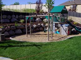 Kid Friendly Backyard Ideas On A Budget Backyard Cheap Backyard Playground Ideas Home Playground Ideas