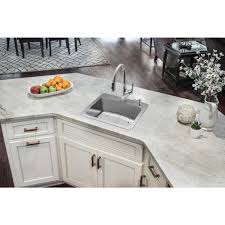 home depot kitchen sink vanity glacier bay all in one dual mount 18 stainless steel