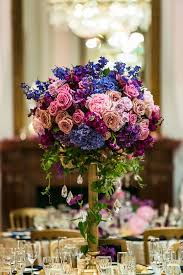 Purple Flower Centerpieces by 356 Best Purple Centerpieces And Weddings Images On Pinterest