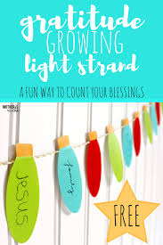 gratitude lights for christmas decorations with meaning that grow