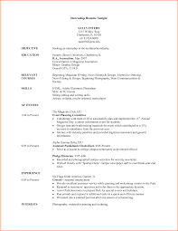 Resume Sample Of A College Student by Resume Samples With Internship Is It Possible To Research And