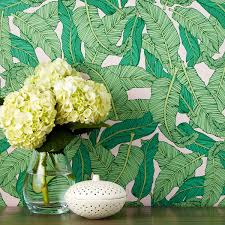 Easy Removable Wallpaper by Chasing Paper Banana Leaf Removable Wallpaper Bloomingdale U0027s