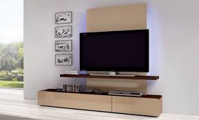 Tv Unit Design For Hall by Living Led Tv Wall Design In Bed Room And Hall Minimalist Wooden