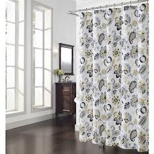 Overstock Shower Curtains Bijoux Paisley Shower Curtain Overstock Shopping Great Deals