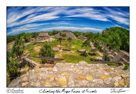 Mayan Ruins Mexico Map by Climbing The Mayan Ruins At Xcambo U2013 Burnsland
