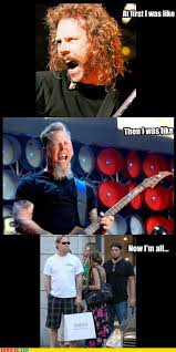 James Hetfield Meme - a brief visual history of james hetfield metalsucks