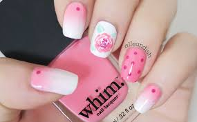 rose nail tutorial ulta whim nail lacquer youtube