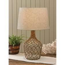 sea bottle jug glass lamp
