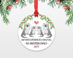 otter ornament etsy