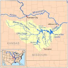 Kansas rivers images Marais des cygnes river wikipedia png