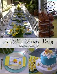 Devotions For Baby Shower - a rubber ducky baby shower party youre invited magazine