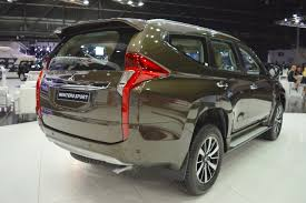 mitsubishi montero 2017 mitsubishi montero sport rear three quarters right side at the
