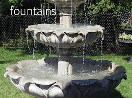 ed s concrete products ornamental garden products water fountains