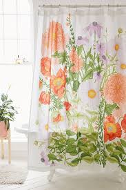 Botanical Shower Curtains Marina Floral Shower Curtain Outfitters