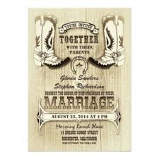 western wedding invitations western wedding invitations