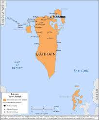 map of bahrain smartraveller gov au bahrain