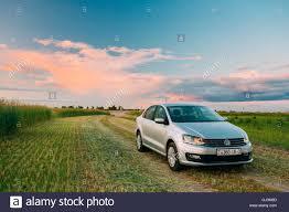 volkswagen background gomel belarus june 6 2016 volkswagen polo car parking on