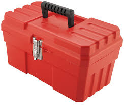 tool box akro mils 9514 14 inch probox plastic tool box red amazon com