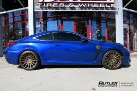 lexus sport rcf lexus rcf with 20in vossen vfs2 wheels exclusively from butler
