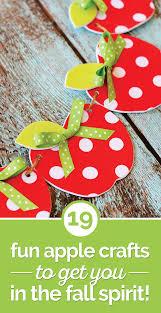 19 fun apple crafts to get you in the fall spirit thegoodstuff