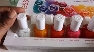 essie silk watercolors 2015 nail polish review and tutorial