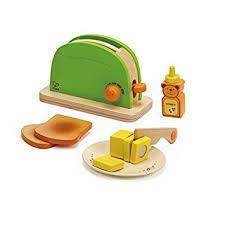 hape e3105 pop up toaster de spielzeug - Toaster Kinderküche