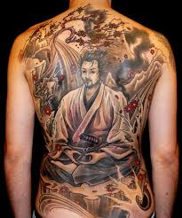female back tattoo designs samurai with sword full back tattoo tattoos pinterest