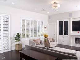 coastal window treatments black for home interior design with