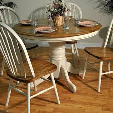 Best  Oak Table And Chairs Ideas Only On Pinterest Refinished - Kitchen table round