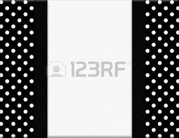 black and white polka dot ribbon black and white checkered frame with ribbon background with center