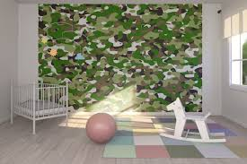 camouflage green wall mural photo wallpaper photowall