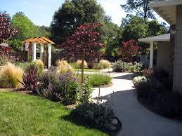 Flower Garden Ideas Beginners by Dry Garden Landscape Front Yard Design Ideas Three Story Concrete