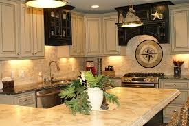 Kitchen Cabinet Downlights Fabulous Cream Kitchen Cabinets With Simple Sink Closed Electric
