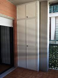 armadietto da balcone mobili da esterno mobile per il giardino da esterno in alluminio