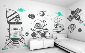 prepossessing 80 kids room wall decor design decoration of best
