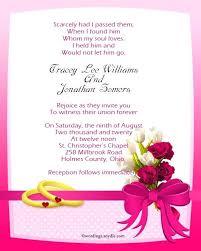 wording on wedding invitation sle wedding invitation simplo co