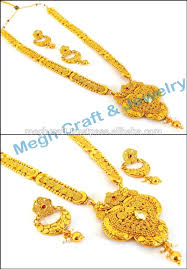 south indian gold plated rani haar set one gram gold plated