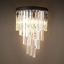 Elegant Crystal Chandelier Sconce Elegant Lighting 2030w 2 Light Maxim Crystal Wall Sconce