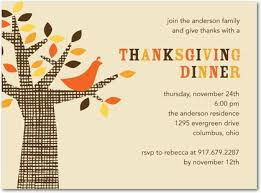 thanksgiving dinner invitations template best template collection