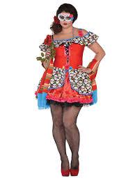 sugar skull costume plus size senora sugar skull costume 848794 55 fancy