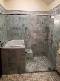 stylish walk in tub and shower combination mansfield plumbing colaluca started by researching ada tubs available from mansfield plumbing once he identified the restoretm walk in tub as the best solution for his