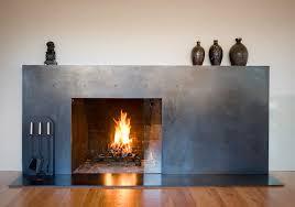 modern glass fireplace doors martin residence modern living room seattle by baan design